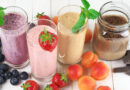 Meyveli Süt Soğuk Yaz içeceği